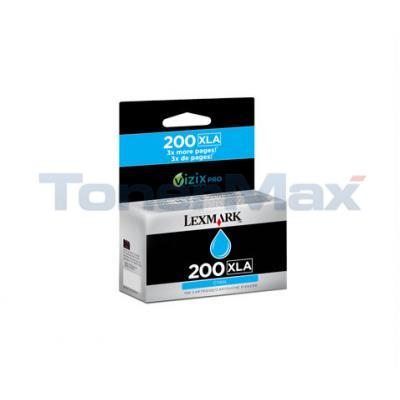 LEXMARK NO 200XLA RP INK CARTRIDGE CYAN HY